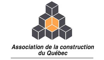 Logo de l'association de la construction du Québec, ACQ